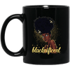 BigProStore Blacknificent Mug African Coffee Cup For Melanin Women Pro Black Girl BM11OZ 11 oz. Black Mug / Black / One Size Coffee Mug