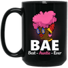 BigProStore Bae Best Auntie Ever Coffee Mug African American Cup For Black Women BM15OZ 15 oz. Black Mug / Black / One Size Coffee Mug