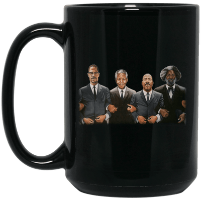 BigProStore Black History Coffee Mug African Cup Designed For Melanin Queen King BM15OZ 15 oz. Black Mug / Black / One Size Coffee Mug