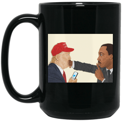 BigProStore African Coffee Mug Design For Pro Black People Beautiful Melanin Women BM15OZ 15 oz. Black Mug / Black / One Size Coffee Mug