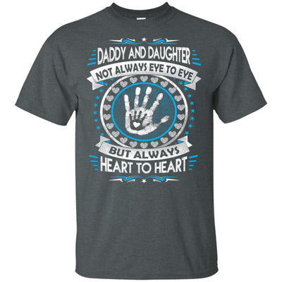 BigProStore Dad And Daughter Always Heart To Heart T-Shirt Father's Day Gift Idea G200 Gildan Ultra Cotton T-Shirt / Dark Heather / S T-shirt