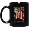 BigProStore Firefighter Coffee Mug One Nation Under God Cup Firemen Gifts BM11OZ 11 oz. Black Mug / Black / One Size Coffee Mug