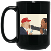 BigProStore African American Coffee Mug Designed For Pro Black Melanin Women Men BM15OZ 15 oz. Black Mug / Black / One Size Coffee Mug