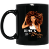BigProStore Black And Boujee Mug African Coffee Cup For Pro Black Melanin Women BM11OZ 11 oz. Black Mug / Black / One Size Coffee Mug