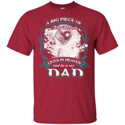 BigProStore Remembering Dad On His Death Anniversary Gift Missing Daddy T-Shirt G200 Gildan Ultra Cotton T-Shirt / Cardinal / S T-shirt