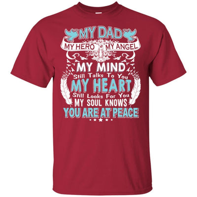 BigProStore My Dad In Heaven Poem I Love You Daddy T-Shirt Father's Day Gift Idea G200 Gildan Ultra Cotton T-Shirt / Cardinal / S T-shirt