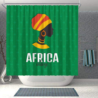 BigProStore Fancy African Print Shower Curtains Black Girl Bathroom Decor BPS0299 Small (165x180cm | 65x72in) Shower Curtain