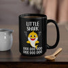 BigProStore Funny Little Shark Doo Doo Doo Coffee Mug Cute Shark Baby Womens Custom Father's Day Mother's Day Gift Idea BPS926 Black / 15oz Coffee Mug
