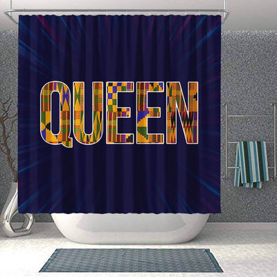 BigProStore Nice Queen African Art African American Bathroom Shower Curtains Afrocentric Bathroom Decor BPS199 Shower Curtain