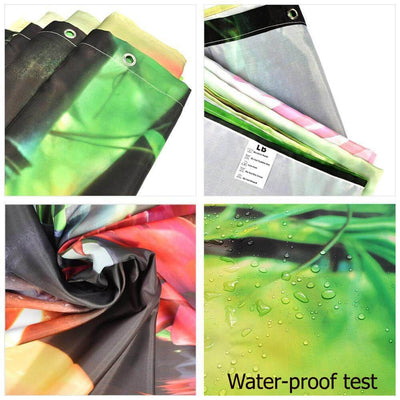 BigProStore Cute Afro American Shower Curtains Black Girl Bathroom Decor Accessories BPS0143 Shower Curtain
