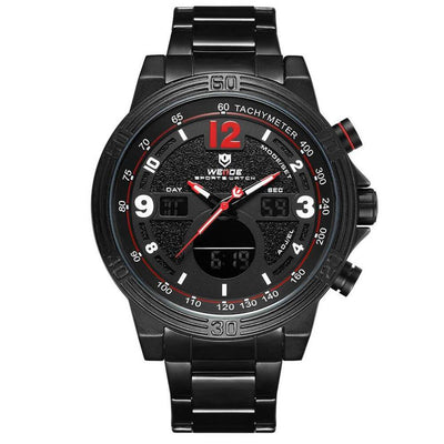 BigProStore Sport Military Men Firefighter Watch Thin Red Line Firemen Wristwatch Wristwatch