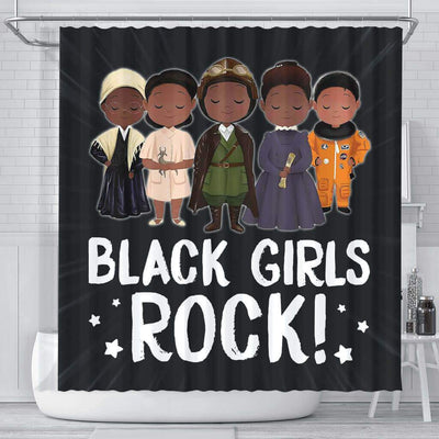 BigProStore Unique Black Girls Rock African American Shower Curtain Afro Bathroom Decor BPS083 Small (165x180cm | 65x72in) Shower Curtain