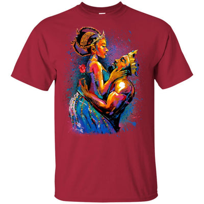 BigProStore African American T-Shirt For Women Men Pro Black People Afro Girl Rock G200 Gildan Ultra Cotton T-Shirt / Cardinal / S T-shirt
