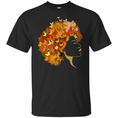 BigProStore Art Black Women T-Shirt African Clothing For Pro Black Pride Afro Girl G200 Gildan Ultra Cotton T-Shirt / Black / S T-shirt