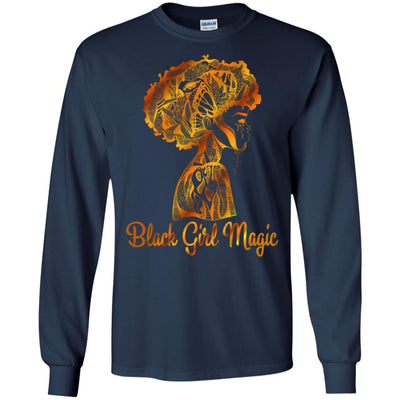 Black Girl Magic T-Shirt African Clothing For Melanin Afro Women Rock BigProStore