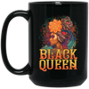 BigProStore Black Queen Mug Coffee African American Cup For Melanin Pride Women BM15OZ 15 oz. Black Mug / Black / One Size Coffee Mug