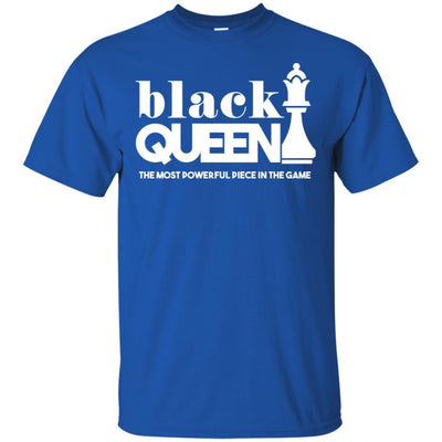 Black Queen The Most Powerful Piece In The Game T-Shirt Melanin Pride BigProStore