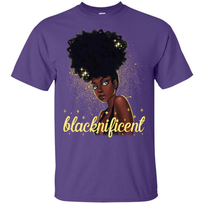 Blacknificent T-shirt African Apparel for Melanin Women Pro Black Girl BigProStore