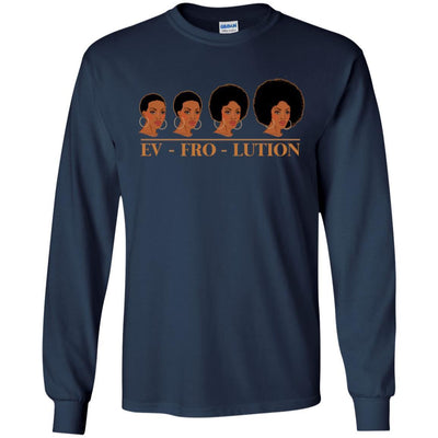 Ev Fro Lution African American T-Shirt For Melanin Women Men Afro Girl BigProStore