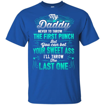 I Love My Daddy Quotes T-Shirt Cool Father's Day Present Idea For Dad BigProStore