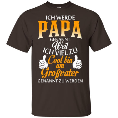 I Love My Papa Funny Quote T-Shirt Father's Day Gift Idea For Men Dad BigProStore