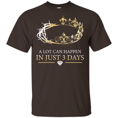 Melanin Queen A Lot Can Happen In Just 3 Days Black Girl Graphic Shirt BigProStore