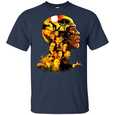 My Roots Pride Black King African American T-Shirt For Afro King Men BigProStore