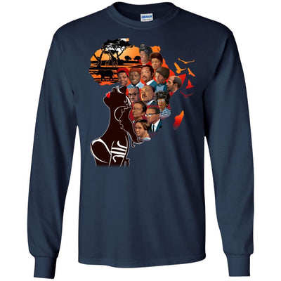 My Roots T-Shirt African American Apparel For Pro Black Afro Girl Rock BigProStore