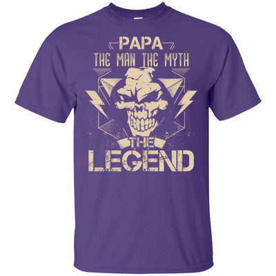 Papa The Man The Myth The Legend T-Shirt Grandpa Dad Father's Day Gift BigProStore