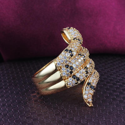 BigProStore Snake Ring Fashion Party Snake Jewelry Gold Silver Women Gift Idea Ring