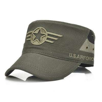 BigProStore US Army Military Baseball Cap Fashion Soldier Embroidery Trucker Hat Army Green Hat