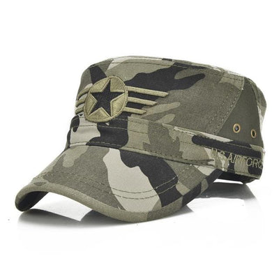 BigProStore US Army Military Baseball Cap Fashion Soldier Embroidery Trucker Hat Camouflage Hat