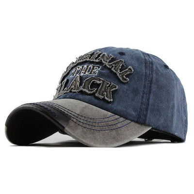 BigProStore Vintage Retro Baseball Cap Cool Snapback Trucker Hat Men Women Gift Gray Navy Hat