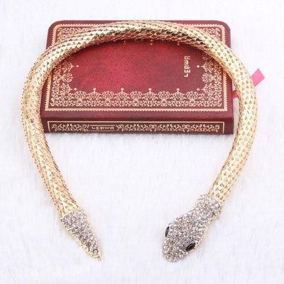 BigProStore Trendy Rhinestone Crystal Snake Necklace Women Silver Gold Snake Jewelry Gold Necklace