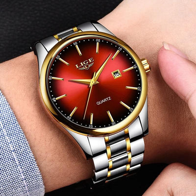 BigProStore Men Sport Military Red Firefighter Watch Cool Firemen Wristwatch Gear Wristwatch