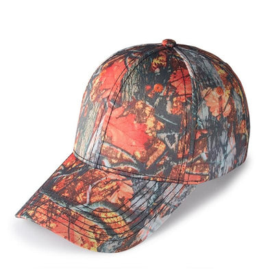 BigProStore Orange Hunting Trucker Hat Maple Leaf Camo Baseball Cap Hunter Gift Hat