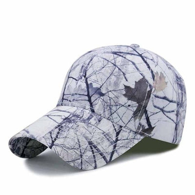 BigProStore Orange Hunting Trucker Hat Maple Leaf Camo Baseball Cap Hunter Gift Camo White Hat