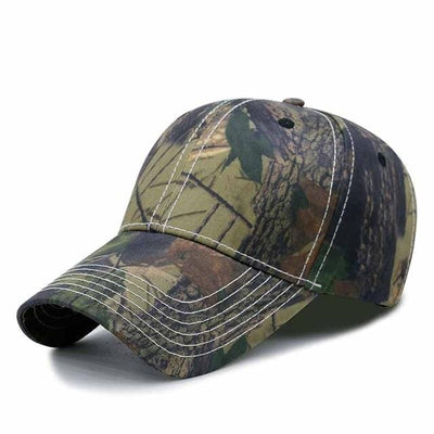BigProStore Orange Hunting Trucker Hat Maple Leaf Camo Baseball Cap Hunter Gift Camo Green Hat