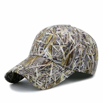 BigProStore Orange Hunting Trucker Hat Maple Leaf Camo Baseball Cap Hunter Gift Camo Gray Hat