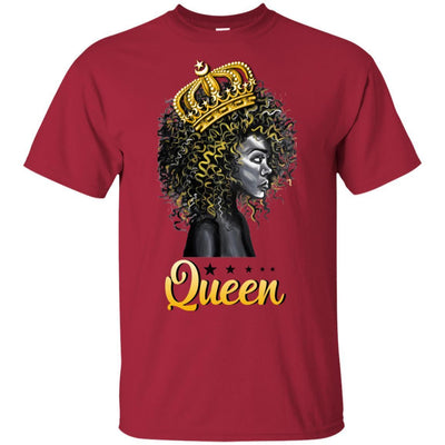 Queen T-Shirt African American Clothing For Pro Black Melanin Women BigProStore