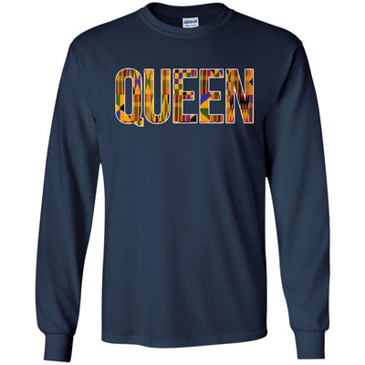 Queen T-Shirt For Black Girl Magic Melanin Women Educated Black Queen BigProStore