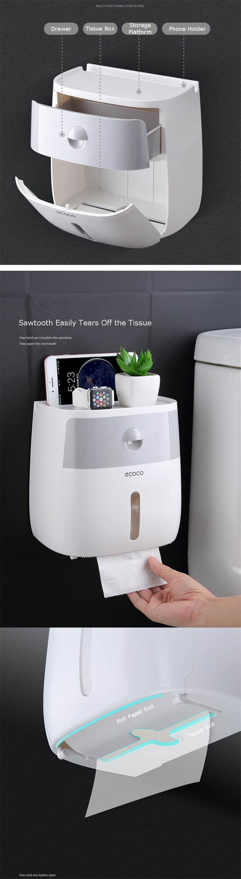 Walastyle Automatic Toilet Paper Dispenser