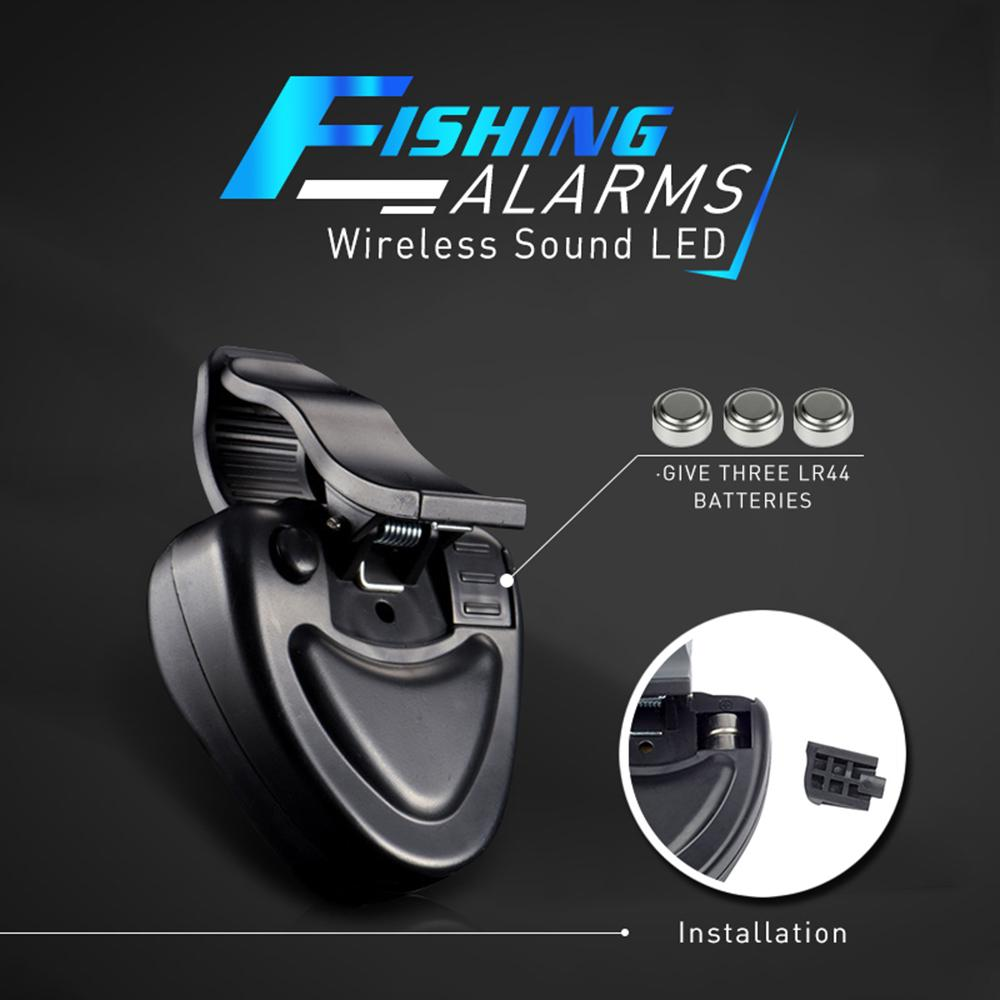 Walastyle Wireless Fishing Bite Alarms