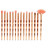 walastyle Rainbow Unicorn Brushes 15pcs