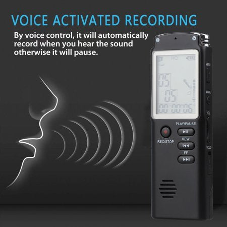 walastyle Rechargeable Voice Recorder