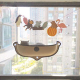 Walastyle Cat Window Safety Hanging Hammock