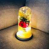 walastyle enchanted rose Ffower lamp