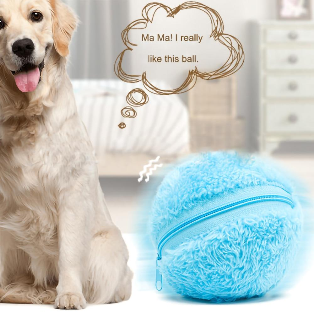 Walastyle Pet Interactive Ball Mini Sweeping Robot