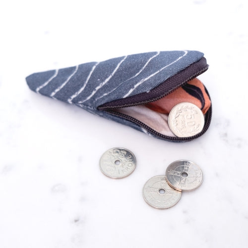 SMALL WALLET MUSSEL