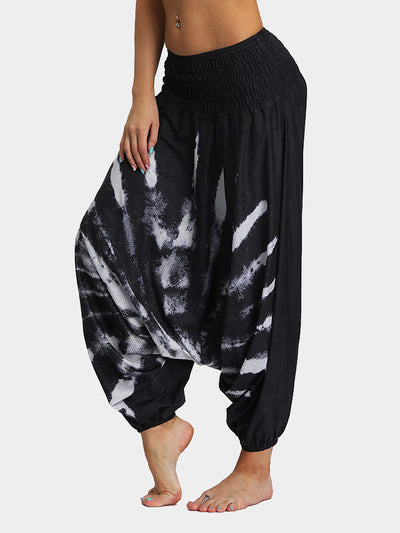 Large Size Loose Fleece Dance Pants
